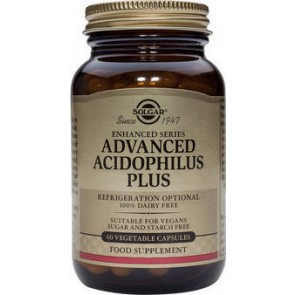 Solgar - Advanced Acidophilus Plus - 60veg. caps