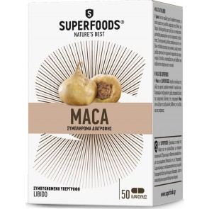 Superfoods - Maca Eubias 300mg - 50caps