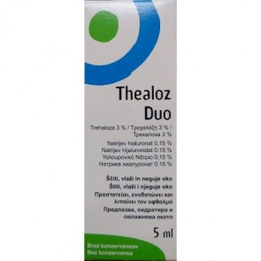Thea Synapsis - Thealoz Duo Eye Drops Οφθαλμικές Σταγόνες - 5ml