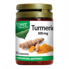 Power Health - Turmeric 500mg - 30 caps