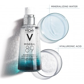Vichy - Mineral 89 booster quotidien summer size Καθημερινό ενυδατικό booster ενδυνάμωσης προσώπου - 75ml