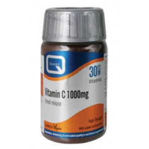Quest - Vitamin C 1000mg timed release plus 100mg bioflavonoids - 30tabs