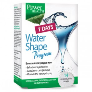 Power Health - 7 Days Water Shape program - 14 αναβράζοντα δισκία