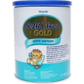 Wyeth - S-26 Gold Lfree - 400gr