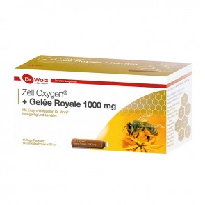 Power Health - Dr. Wolz Zell Oxygen + Gelee Royale 1000mg 14 x 20ml